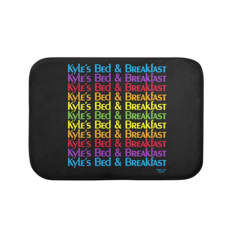 Kyle's B&B -  Love is All Around Home Bath Mat by Kyle's Bed & Breakfast Fine Clothing & Gifts Shop