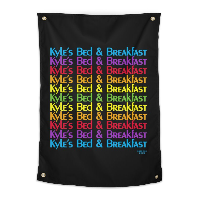 Kyle's B&B -  Love is All Around Home Tapestry by Kyle's Bed & Breakfast Fine Clothing & Gifts Shop