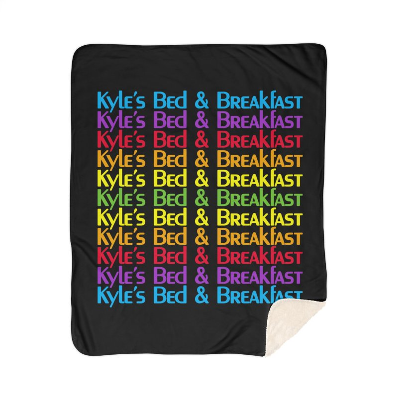 Kyle's B&B -  Love is All Around Home Sherpa Blanket Blanket by Kyle's Bed & Breakfast Fine Clothing & Gifts Shop