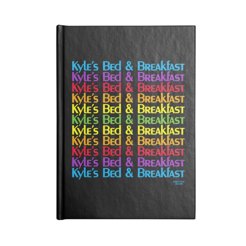 Kyle's B&B -  Love is All Around Accessories Lined Journal Notebook by Kyle's Bed & Breakfast Fine Clothing & Gifts Shop
