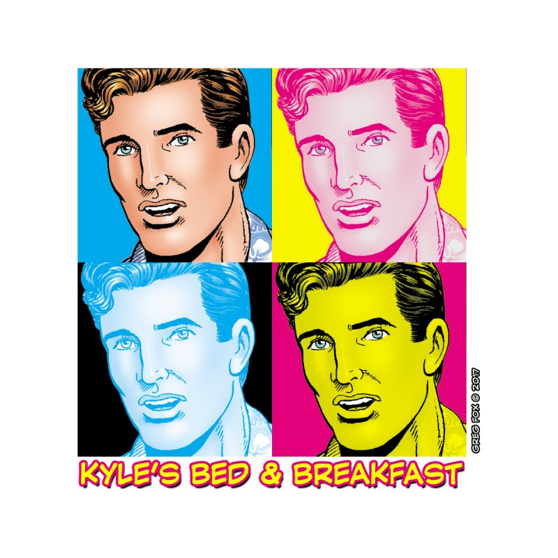 Pop Art Kyle Home Blanket by Kyle's Bed & Breakfast Fine Clothing & Gifts Shop