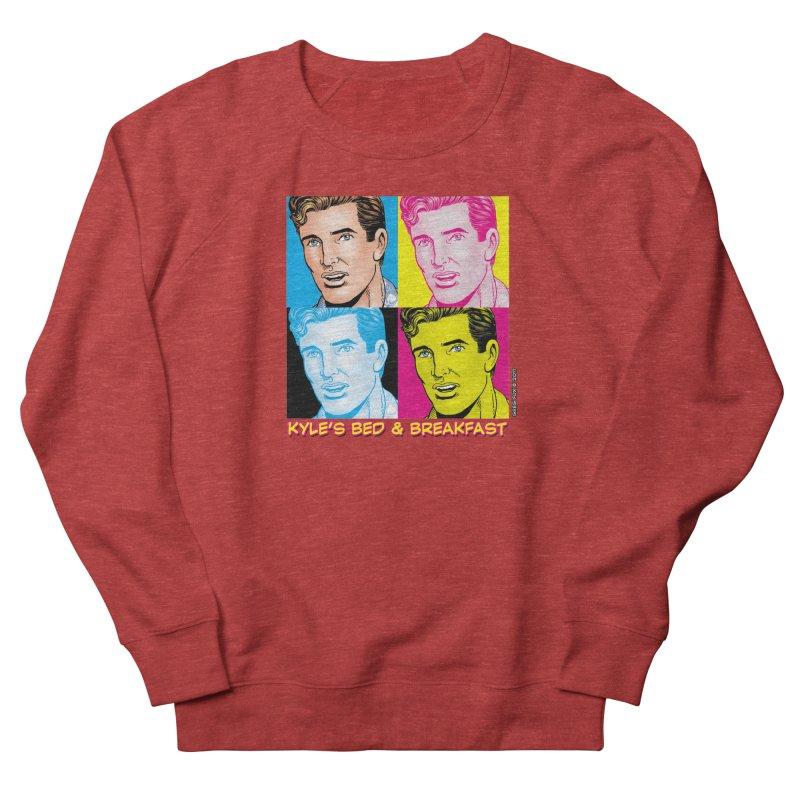 Pop Art Kyle Women's Sweatshirt by Kyle's Bed & Breakfast Fine Clothing & Gifts Shop