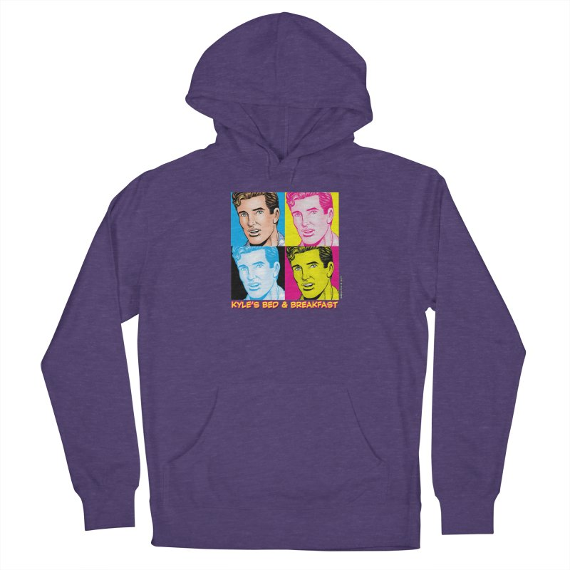 Pop Art Kyle Women's Pullover Hoody by Kyle's Bed & Breakfast Fine Clothing & Gifts Shop