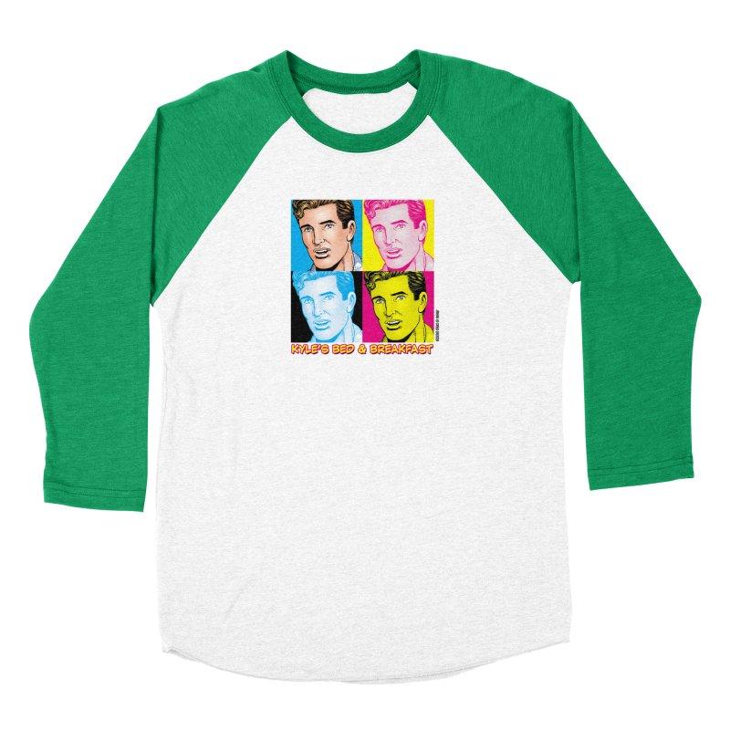 Pop Art Kyle Women's Longsleeve T-Shirt by Kyle's Bed & Breakfast Fine Clothing & Gifts Shop