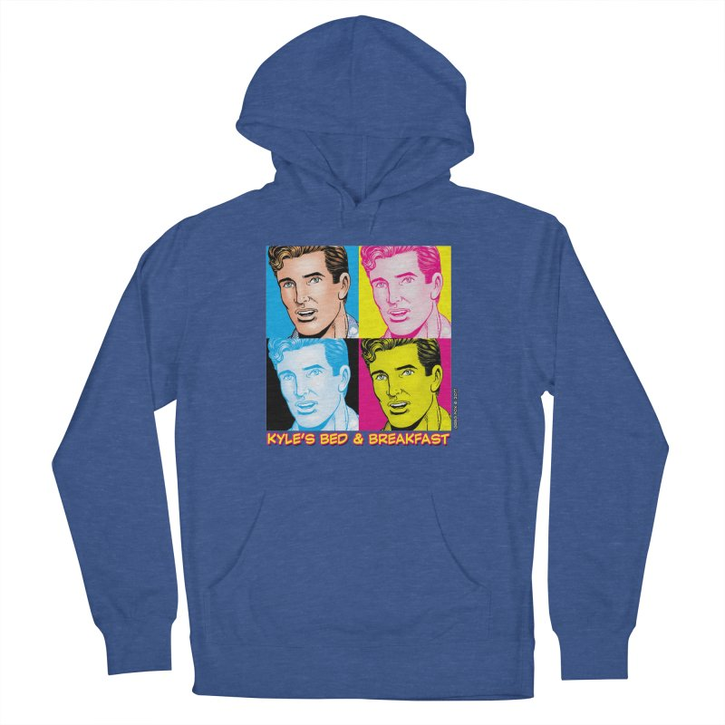 Pop Art Kyle Women's French Terry Pullover Hoody by Kyle's Bed & Breakfast Fine Clothing & Gifts Shop