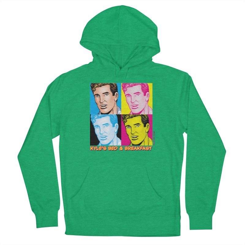 Pop Art Kyle Men's Pullover Hoody by Kyle's Bed & Breakfast Fine Clothing & Gifts Shop