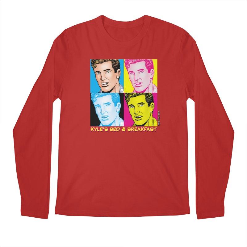 Pop Art Kyle Men's Longsleeve T-Shirt by Kyle's Bed & Breakfast Fine Clothing & Gifts Shop