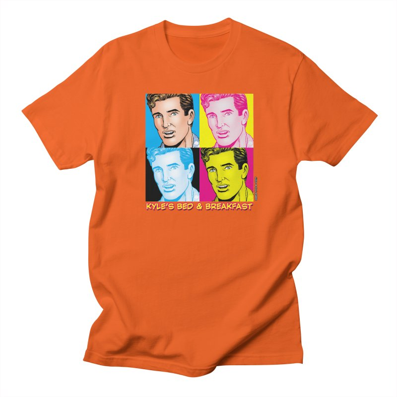 Pop Art Kyle Men's T-Shirt by Kyle's Bed & Breakfast Fine Clothing & Gifts Shop