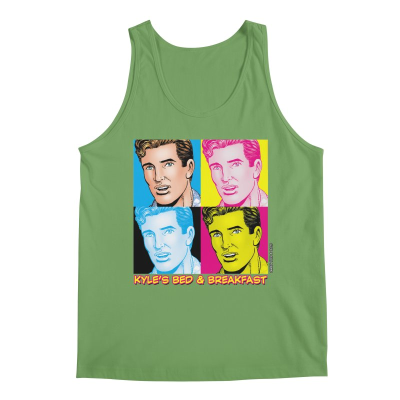 Pop Art Kyle Men's Tank by Kyle's Bed & Breakfast Fine Clothing & Gifts Shop