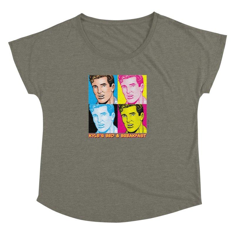 Pop Art Kyle Women's Dolman by Kyle's Bed & Breakfast Fine Clothing & Gifts Shop