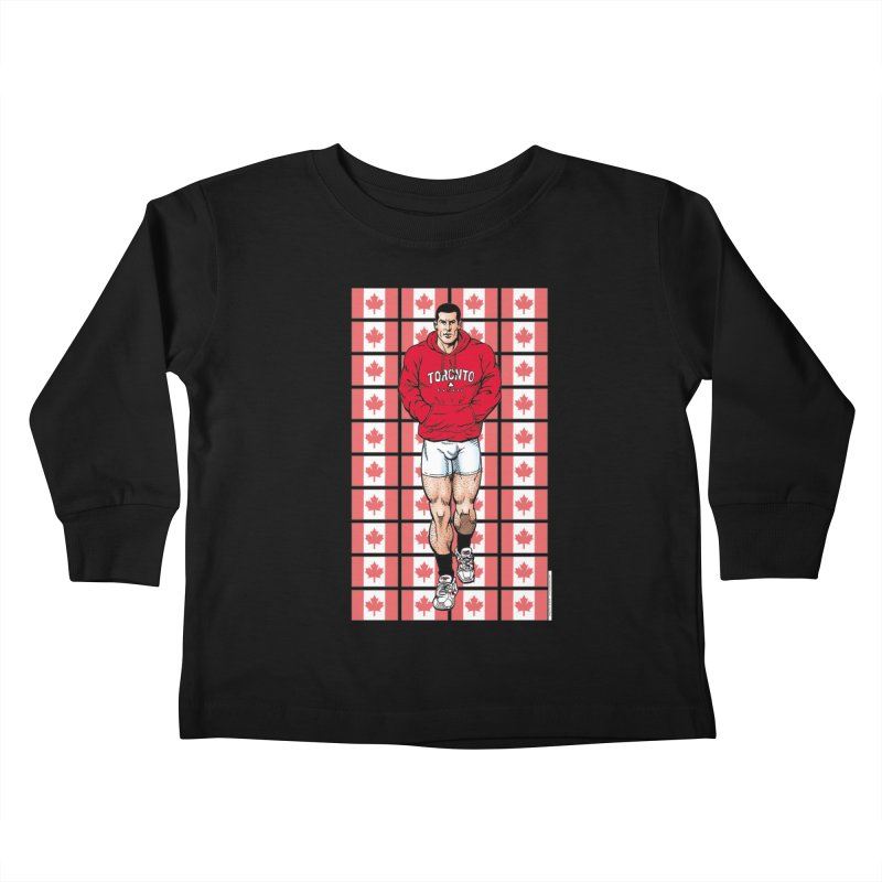Breyer - Canadian Pride Kids Toddler Longsleeve T-Shirt by Kyle's Bed & Breakfast Fine Clothing & Gifts Shop