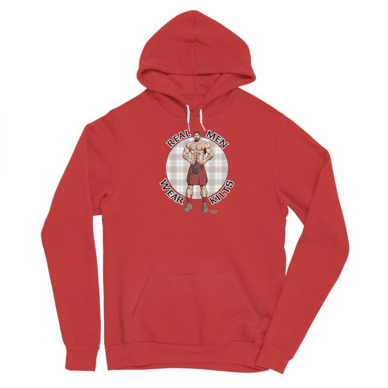 Real Men Wear Kilts Women's Pullover Hoody by Kyle's Bed & Breakfast Fine Clothing & Gifts Shop