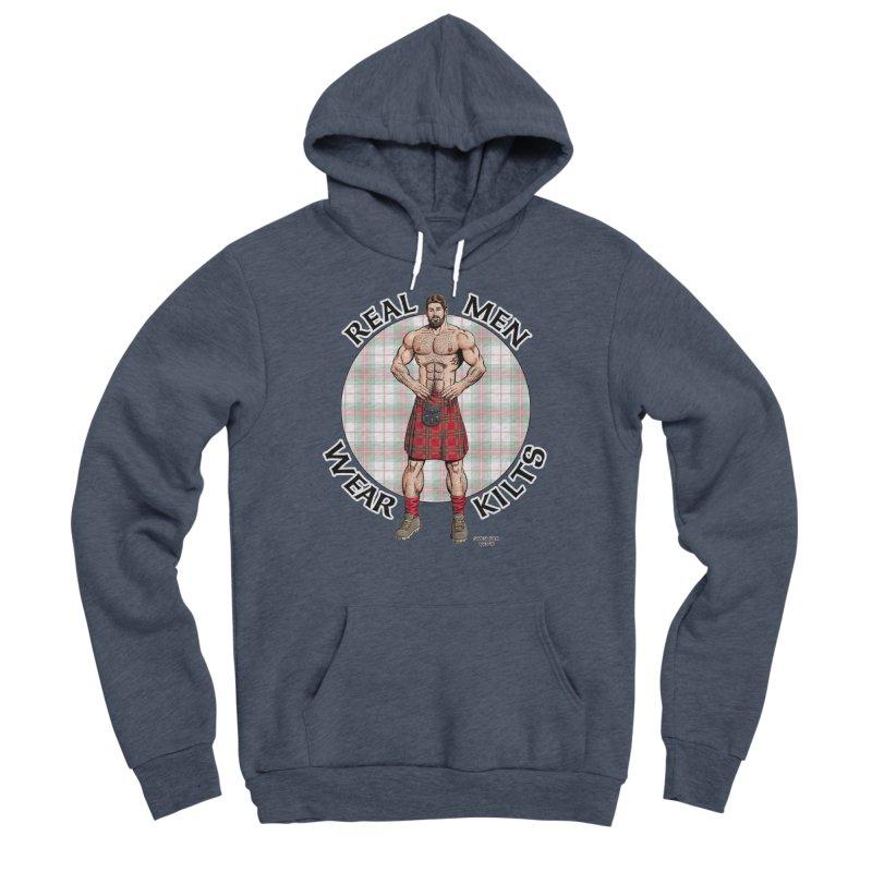 Real Men Wear Kilts Women's Sponge Fleece Pullover Hoody by Kyle's Bed & Breakfast Fine Clothing & Gifts Shop