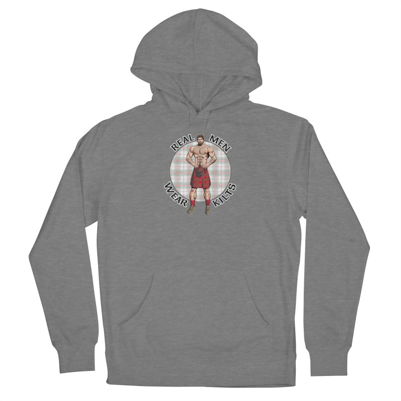 Real Men Wear Kilts Women's Pullover Hoody by Kyle's Bed & Breakfast Fine Clothing & Gifts Shop