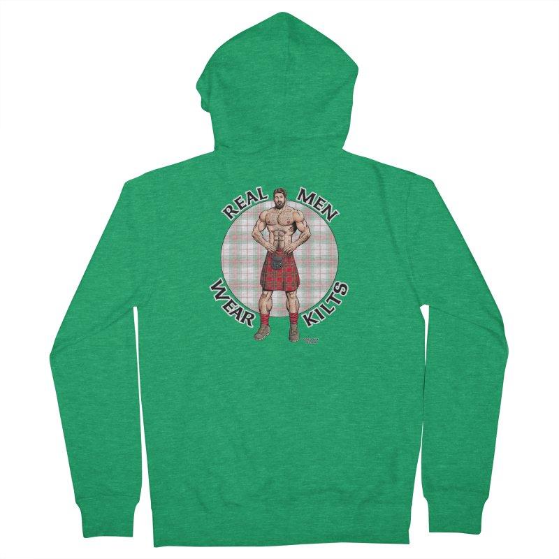 Real Men Wear Kilts Women's Zip-Up Hoody by Kyle's Bed & Breakfast Fine Clothing & Gifts Shop