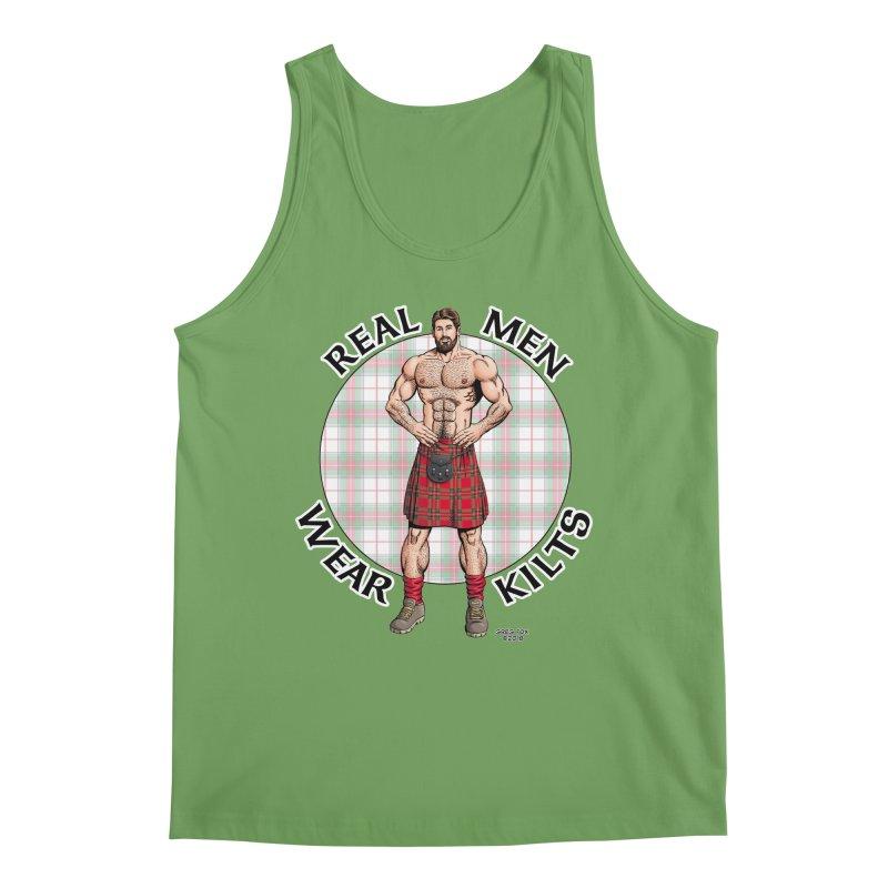 Real Men Wear Kilts Men's Tank by Kyle's Bed & Breakfast Fine Clothing & Gifts Shop