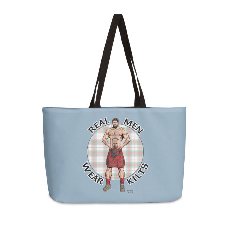 Real Men Wear Kilts Accessories Bag by Kyle's Bed & Breakfast Fine Clothing & Gifts Shop