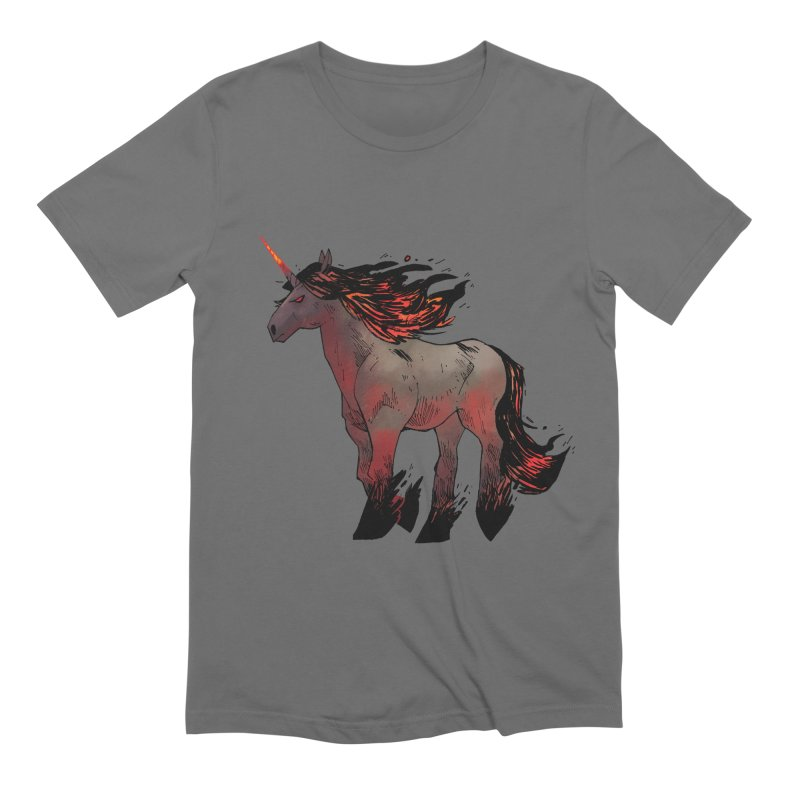 Nightmare Unicorn Men's Extra Soft T-Shirt by Kyle Ferrin's Artist Shop