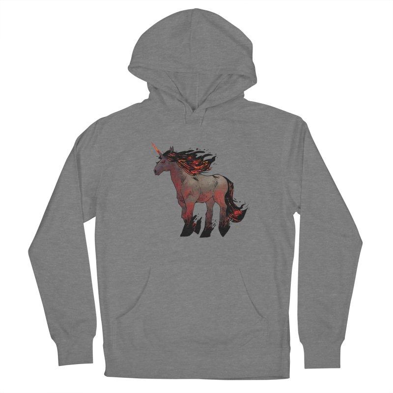 Nightmare Unicorn Women's Pullover Hoody by Kyle Ferrin's Artist Shop