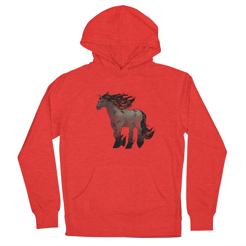 Nightmare Unicorn Men's Pullover Hoody by Kyle Ferrin's Artist Shop