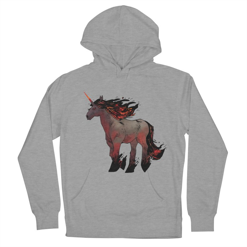 Nightmare Unicorn Women's Pullover Hoody by Kyle Ferrin's Artist Shop