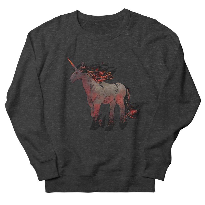 Nightmare Unicorn Men's Sweatshirt by Kyle Ferrin's Artist Shop