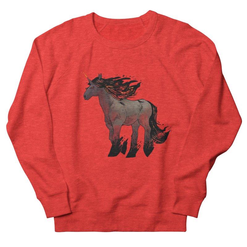 Nightmare Unicorn Men's Sweatshirt by Kyle Ferrin's Artist Shop