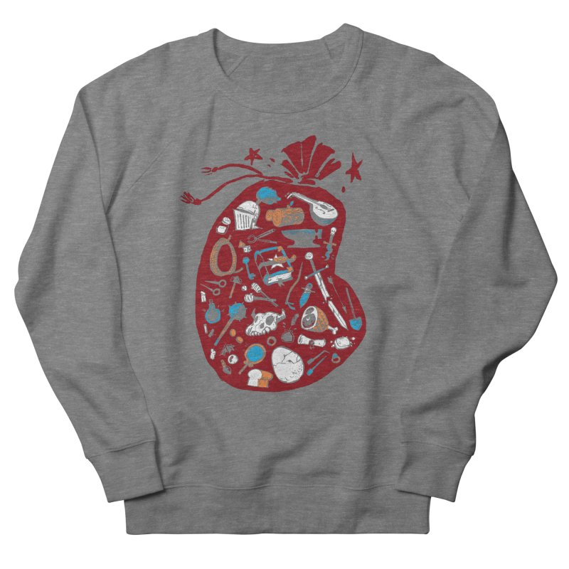 Bag of Holding Women's French Terry Sweatshirt by Kyle Ferrin's Artist Shop