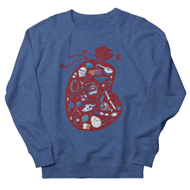 Bag of Holding Men's French Terry Sweatshirt by Kyle Ferrin's Artist Shop