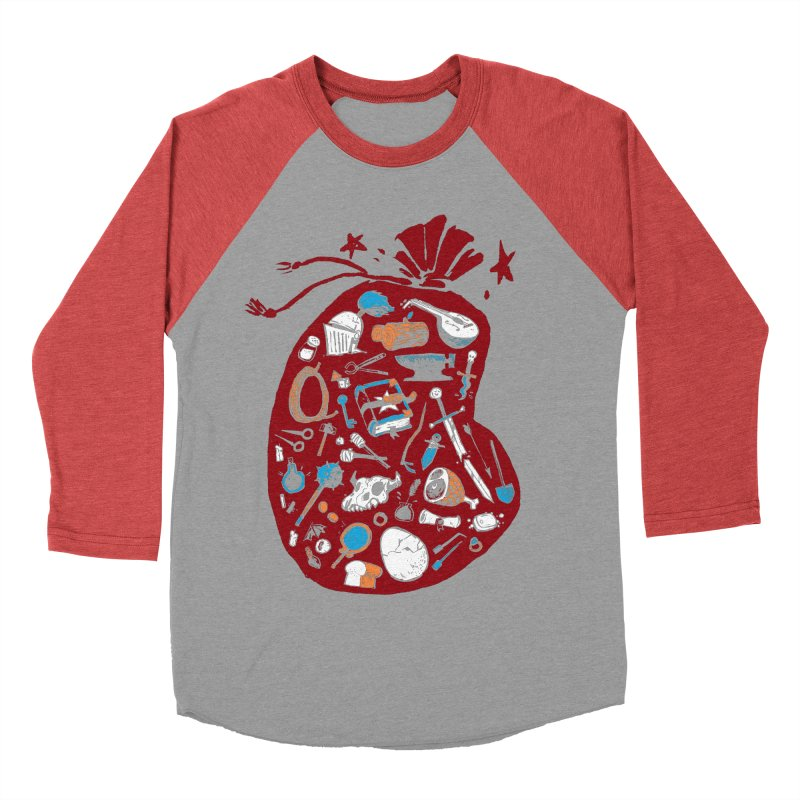 Bag of Holding Women's Baseball Triblend T-Shirt by Kyle Ferrin's Artist Shop