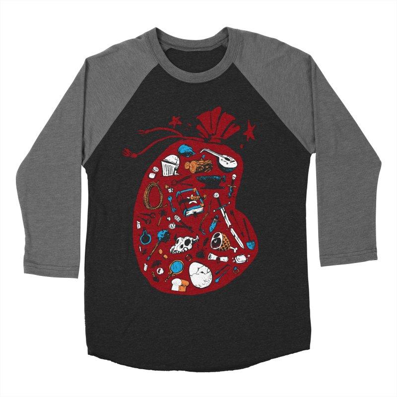 Bag of Holding Men's Baseball Triblend T-Shirt by Kyle Ferrin's Artist Shop