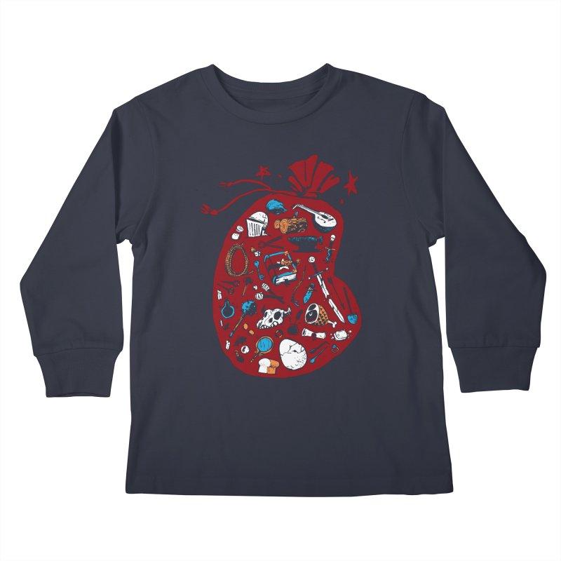 Bag of Holding Kids Longsleeve T-Shirt by Kyle Ferrin's Artist Shop