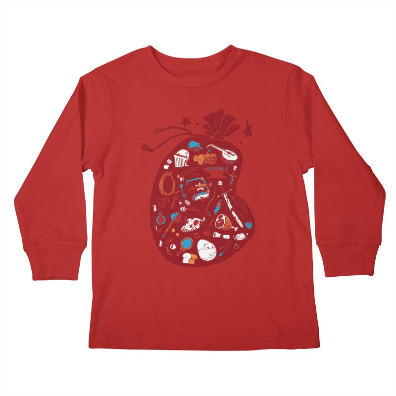Bag of Holding Kids Longsleeve T-Shirt by Kyle Ferrin's Artist Shop