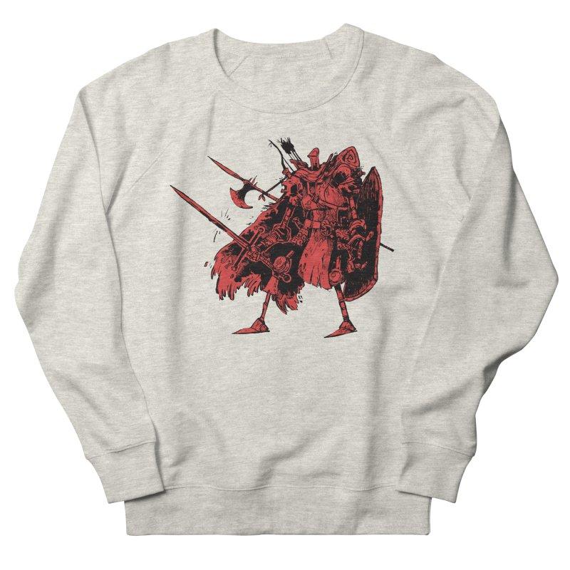 Fighter Men's French Terry Sweatshirt by Kyle Ferrin's Artist Shop