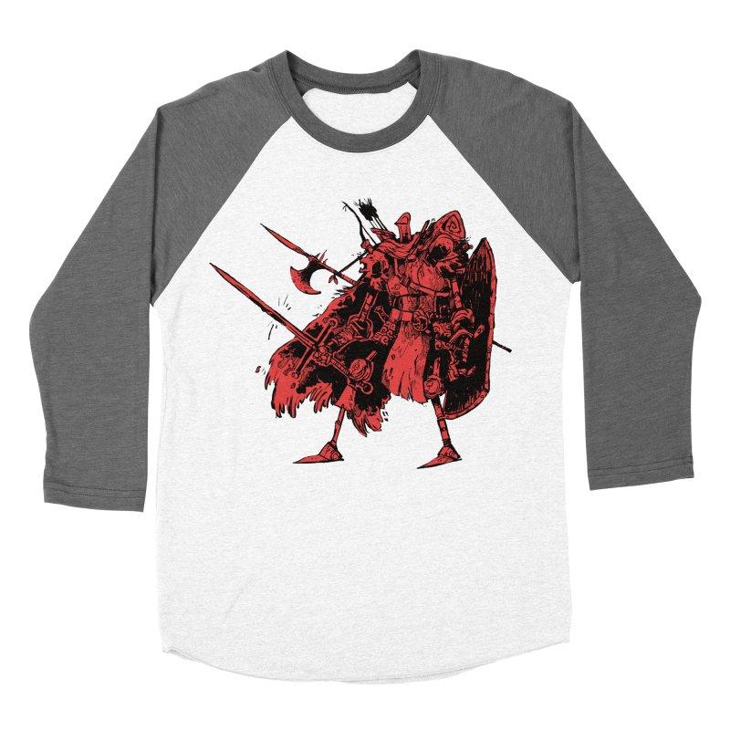 Fighter Women's Baseball Triblend Longsleeve T-Shirt by Kyle Ferrin's Artist Shop
