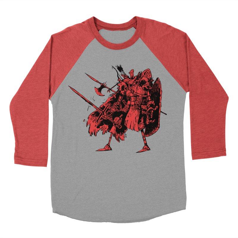 Fighter Women's Baseball Triblend T-Shirt by Kyle Ferrin's Artist Shop
