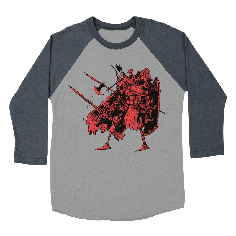 Fighter Men's Baseball Triblend T-Shirt by Kyle Ferrin's Artist Shop