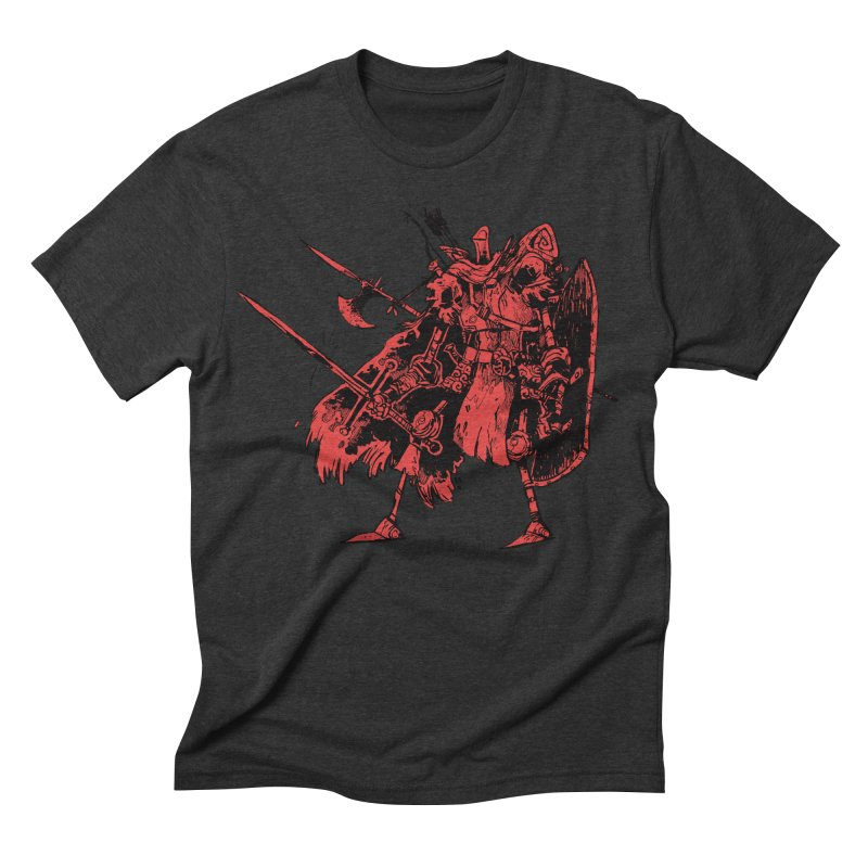 Fighter Men's Triblend T-shirt by Kyle Ferrin's Artist Shop