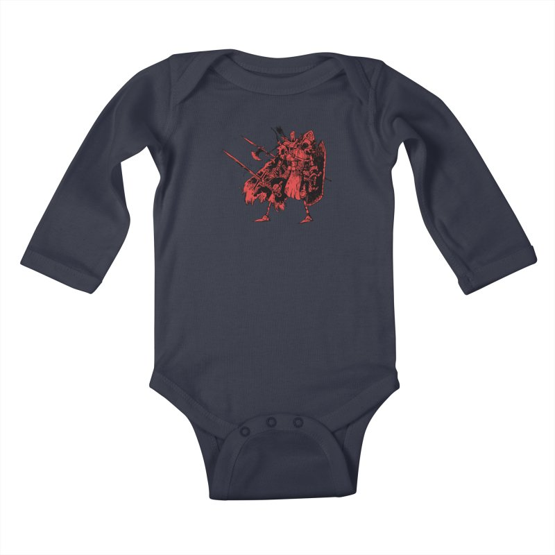 Fighter Kids Baby Longsleeve Bodysuit by Kyle Ferrin's Artist Shop