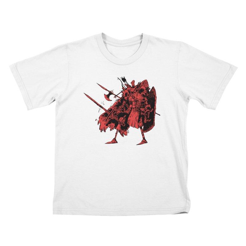 Fighter Kids Toddler T-Shirt by Kyle Ferrin's Artist Shop