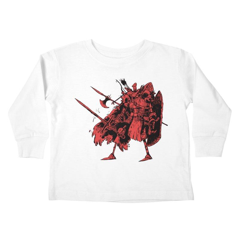 Fighter Kids Toddler Longsleeve T-Shirt by Kyle Ferrin's Artist Shop
