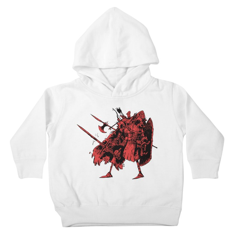 Fighter Kids Toddler Pullover Hoody by Kyle Ferrin's Artist Shop
