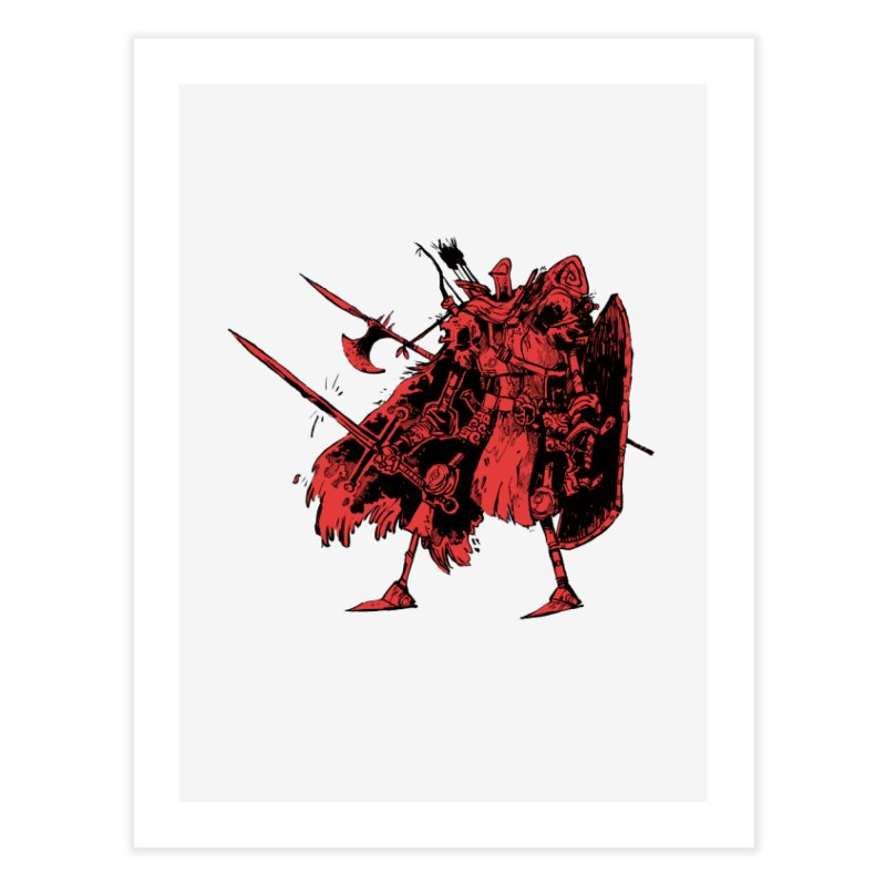 Fighter Home Fine Art Print by Kyle Ferrin's Artist Shop