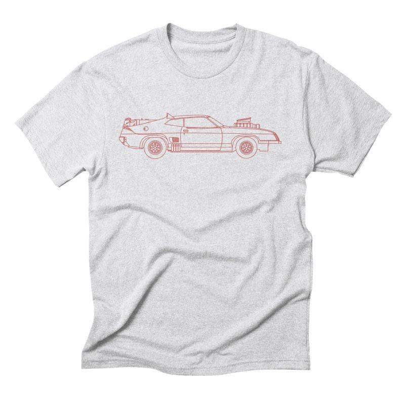 The Last of V8 Interceptors Men's Triblend T-shirt by Kyle Ferrin's Artist Shop