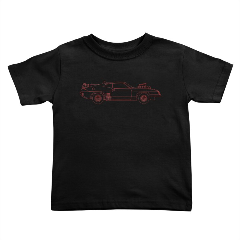 The Last of V8 Interceptors Kids Toddler T-Shirt by Kyle Ferrin's Artist Shop