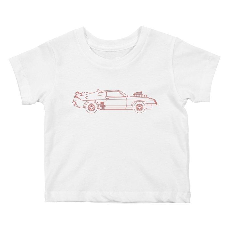 The Last of V8 Interceptors Kids Baby T-Shirt by Kyle Ferrin's Artist Shop