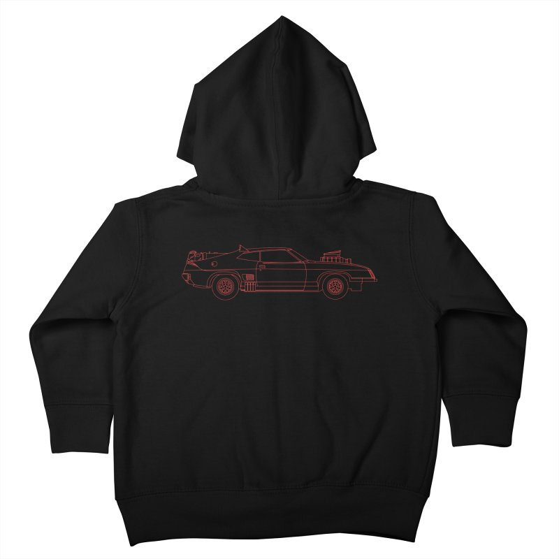 The Last of V8 Interceptors Kids Toddler Zip-Up Hoody by Kyle Ferrin's Artist Shop