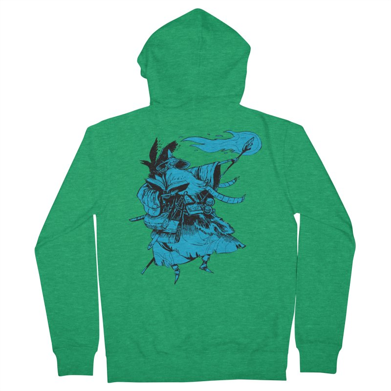 Wizard Men's Zip-Up Hoody by Kyle Ferrin's Artist Shop