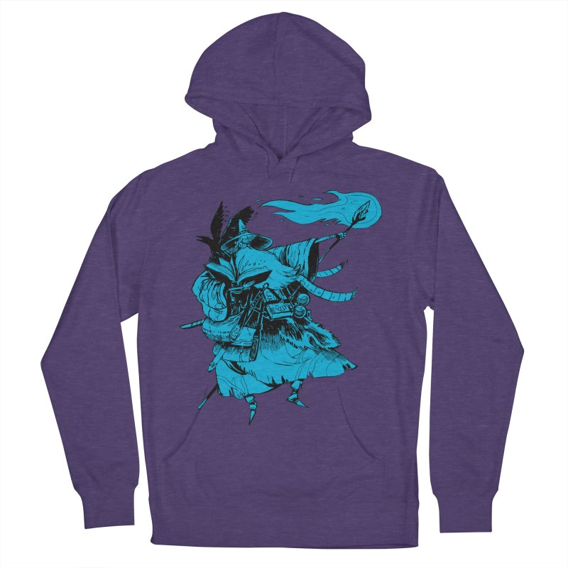 Wizard Men's French Terry Pullover Hoody by Kyle Ferrin's Artist Shop