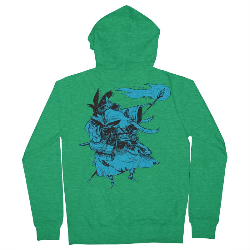 Wizard Women's French Terry Zip-Up Hoody by Kyle Ferrin's Artist Shop